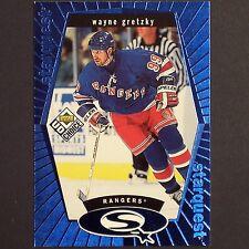 WAYNE GRETZKY - 1998/99 Upper Deck Starquest #SQ1 Blue Edmonton Oilers original