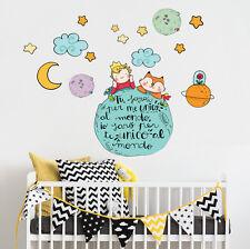 R00370 Wall Stickers Sticker Adesivi Murali Camerette Il piccolo principe 90x40