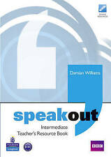 Speakout Intermediate Teachers Book, Williams, Mr Damian, Used; Acceptable Book