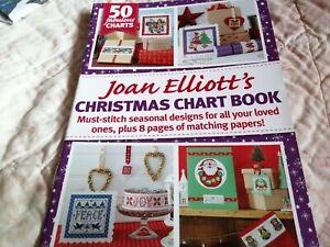 CROSS STITCH CHART FESTIVE  CHART BOOKLET CHRISTMAS DESIGNS JOAN ELLIOTT