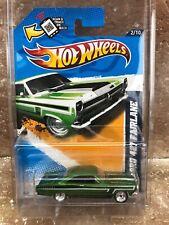 2012 Hot Wheels TREASURE HUNT SUPER hidden secret 66 FORD 427 FAIRLANE GREEN USA