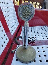 Vintage Astatic D-104 Lollipop Ham Cb Radio T-Ug8 Stand Base Microphone Mic