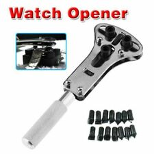 Watchmaker Tool Repair Kit Back Case Opener Wrench Cover Remover Hold Watch