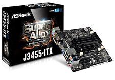 Mb AsRock J3455 DVI HDMI Ddr3 Intel J3455 CPU M-itx #2056