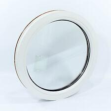 Fenêtre fixe ronde, oeil de boeuf, de haute qualité PVC NEUF VEKA Ø 550mm
