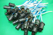5Pcs T10 W5W Car Dashboard Gauge LED Light Lamp Wedge Bulb Side Light Socket