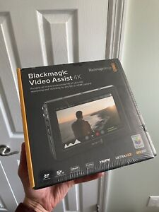 "Unopened! Blackmagic Design Video Assist 4K 7"" Monitor with Dual SDXC!"