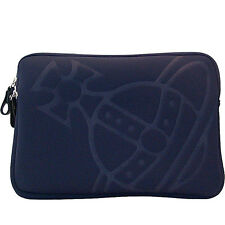 VIVIENNE WESTWOOD porta pc 17'' blu pc case blue
