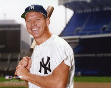 New York Yankees MICKEY MANTLE Glossy 8x10 Photo Baseball Print Poster Portrait