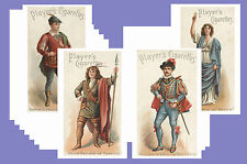 ACTORS & ACTRESSES (1898) - CIGARETTE CARD POSTCARD SET