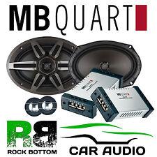 MB QUART 220 watts a Pair 2 way Component 6x9 Rear Shelf Car and Van Speakers