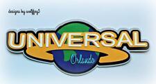CRAFTECAFE UNIVERSAL ORLANDO TITLE paper piecing scrapbook page diecut WOLFFEY5