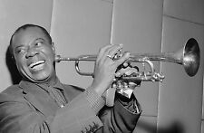 Louis Armstrong POSTER 1 (CHOOSE SIZE A5-A4-A3-A2) +FREE SURPRISE A3 POSTER/JAZZ