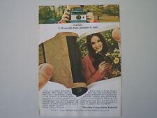 advertising Pubblicità 1968 POLAROID