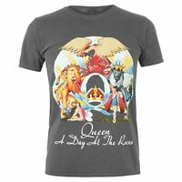Official Mens Gents Queen Band T Shirt Crew Neck Tee Top Short Sleeve Cotton