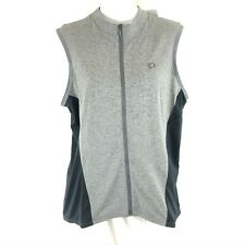 Pearl Izumi Womens Select Escape Jersey Full Zip Sleeveless Gray Black Size XXL