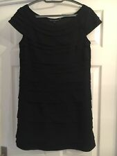 Black French Connection Size 12 Dress