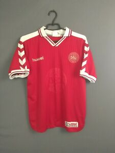 Denmark Jersey 1998 2000 Home S Shirt Mens Trikot Football Soccer Hummel ig93