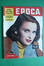 EPOCA 1953 LUCIA BOSE' SOMMERGIBILE BARBARIGO DANIEL DELORME ARMANDO FALCONI