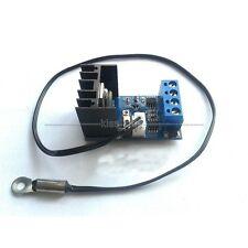 12V 1A Automatic PC CPU Fan Temperature Control Speed Controller + TEMP Sensor