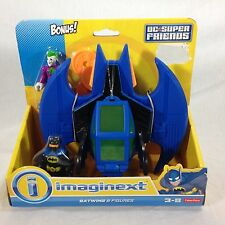 NIB Fisher-Price Imaginext DC Super Friends Batman and Batwing with Joker Figure