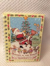 Mary Engelbreit Wire-Bound journal Blessed is the Season Which Engages the.New