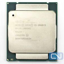 Intel Xeon E5-2660 V3 2.6GHz 25MB 9.6GT/s SR1XR LGA2011-v3 B Grade CPU