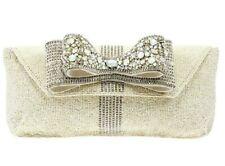 MARY FRANCES | STARDUST DESIGNER CLUTCH BAG *NEW* CUTE RARE HANDBAG STAR BOW USA