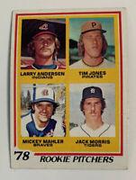 1978 Jack Morris # 703 Rookie RC Detroit Tigers Topps Baseball Card