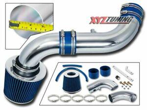 "07-10 Dodge Nitro 3.7 V6 Cold Air Intake +BLUE Filter 3"""