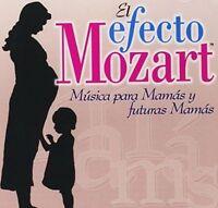 NEW Efecto Mozart: Musica Para Mamas & Futuras (Audio CD)