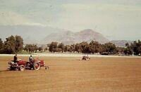 VH07 ORIGINAL KODACHROME 1960s 35MM SLIDE CALIFORNIA FARMING TRACTORS TRACK TYPE