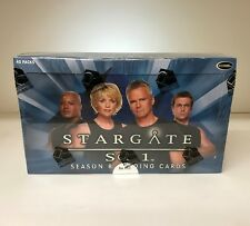 Stargate SG1 Season 8 - Sealed Trading Card Hobby Box - 40 Pks, Rittenhouse 2006
