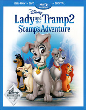 Lady and the Tramp 2 Scamps Adventure (Blu-ray/DVD/Digital)