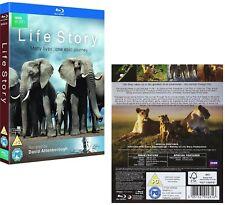 LIFE STORY (2014): SIR DAVID ATTENBOROUGH - BBC TV Series - BLU-RAY Region Free