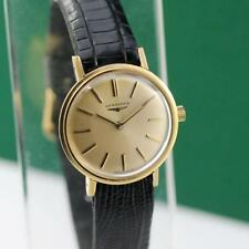 1980's LONGINES 18K SOLID YELLOW GOLD CAL 13.15V MANUAL WIND LADIES WATCH