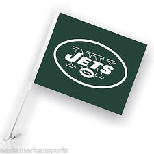 New York Jets Nfl Car Flag Window Pole Banner Auto Truck Football Fan Tailgate