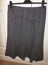 COUNTRY CASUAL   DARK TWEED  FULLY LINED SKIRT  Size 14
