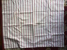 Pottery Barn Red White Stripe Standard Pillow Shams