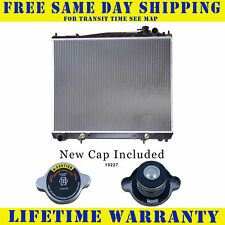 Radiator With Cap For Infiniti Nissan Fits Qx4 Pathfinder 3.5 V6 6Cyl 2459WC