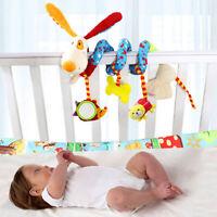 Baby Crib Cot Pram Hanging Rattles Spiral Stroller Car Seat Pushchair Toy CN