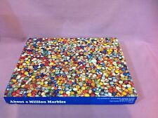 Vintage 500 pc Jigsaw Puzzle  About a Million Marbles 1975 Springbok AA
