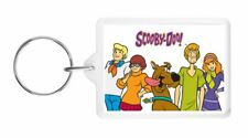 SCOOBY DOO -RETRO CHILDRENS TV SHOW -LARGE DOUBLE-SIDED KEYRING -GREAT KIDS GIFT