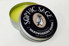 Sophic Sage 4oz Hardworking Hands Hydrating Hand Balm Sticky Resin Remover Organ