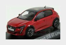 Peugeot 208 Gt Line 2019 Red NOREV 1:43 NV472832
