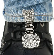 RYDER CLIPS LACED BOOT TYPE (FLAMES)