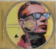 Nik Kershaw, Somebody Loves You; 3 track Promo CD Single