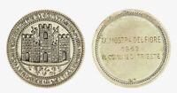 s1327_1) Medaglia Trieste Mostra del Fiore 1962 -  AR Ø 40