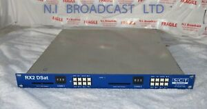 SCT RX2 Dsat 2 channel satellite receiver