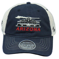NCAA Zephyr Arizona Wildcats Relaxed Two Tone Curved Bill Snapback Hat Cap